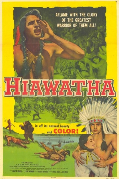 Caratula, cartel, poster o portada de Hiawatha