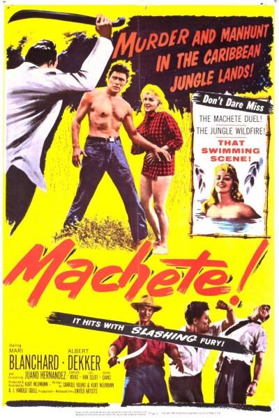 Caratula, cartel, poster o portada de Machete