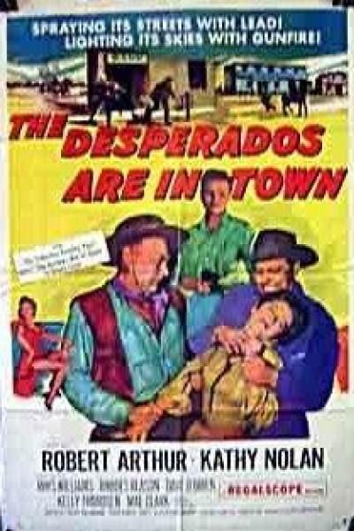 Caratula, cartel, poster o portada de The Desperados Are in Town