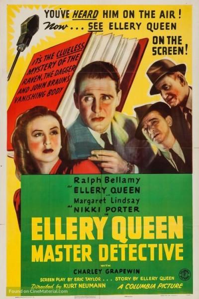 Caratula, cartel, poster o portada de Ellery Queen, Master Detective