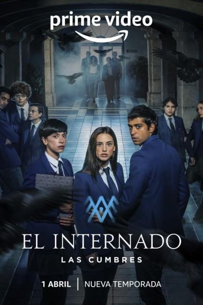 Caratula, cartel, poster o portada de El internado: Las Cumbres