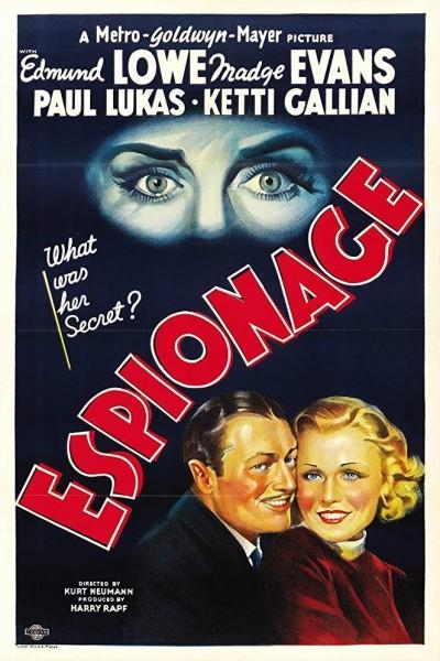 Caratula, cartel, poster o portada de Espionage