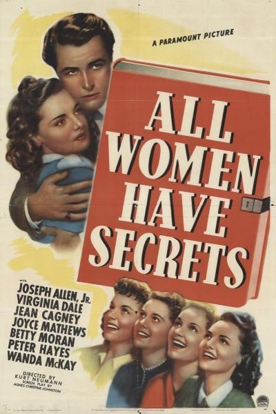 Caratula, cartel, poster o portada de All Women Have Secrets