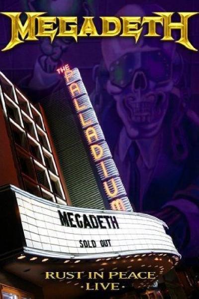 Caratula, cartel, poster o portada de Megadeth: Rust in Peace Live