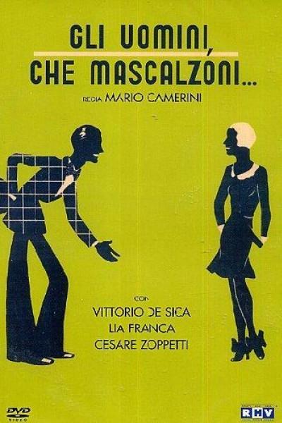 Caratula, cartel, poster o portada de ¡Qué sinvergüenzas son los hombres!