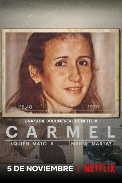 Caratula, cartel, poster o portada de Carmel: ¿Quién mató a María Marta?