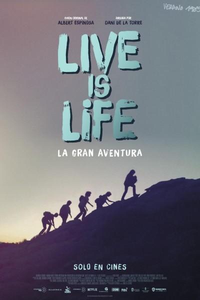 Caratula, cartel, poster o portada de Live is Life