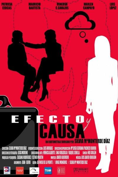 Caratula, cartel, poster o portada de Efecto y causa