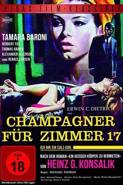 Caratula, cartel, poster o portada de Champagner für Zimmer 17