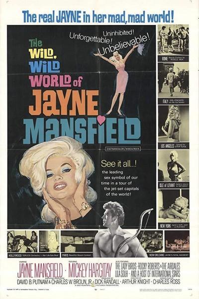 Caratula, cartel, poster o portada de El loco, loco mundo de Jayne Mansfield