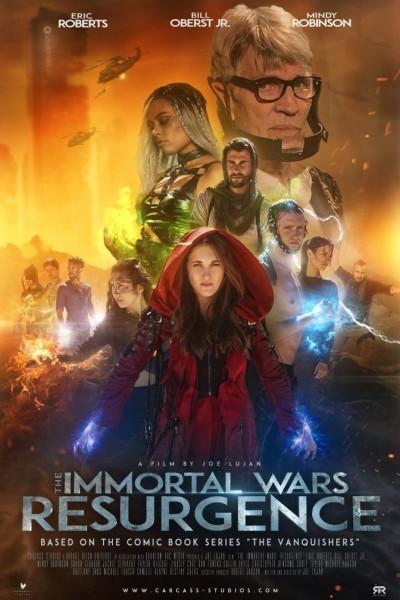 Caratula, cartel, poster o portada de The Immortal Wars: Resurgence