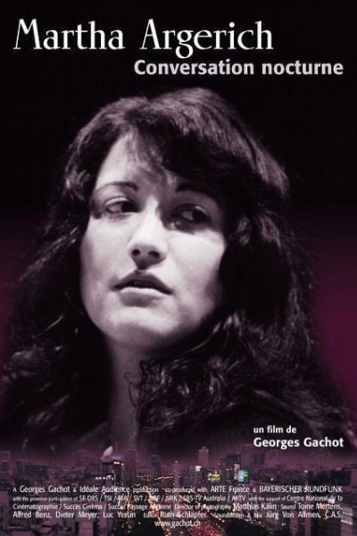 Caratula, cartel, poster o portada de Martha Argerich, conversation nocturne