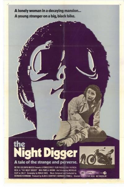 Caratula, cartel, poster o portada de El enterrador nocturno