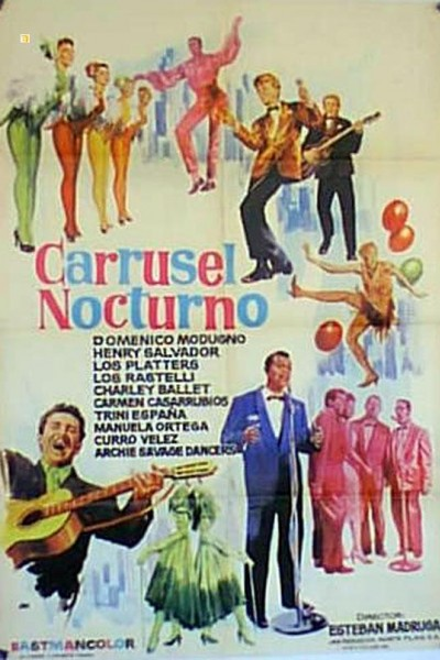 Caratula, cartel, poster o portada de Carrusel nocturno