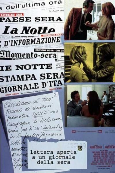 Caratula, cartel, poster o portada de Lettera aperta a un giornale della sera