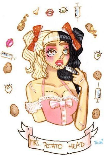 Caratula, cartel, poster o portada de Melanie Martinez: Mrs Potato Head (Vídeo musical)