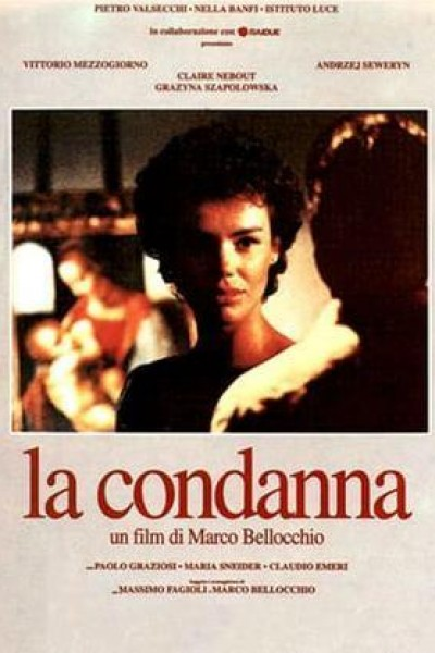 Caratula, cartel, poster o portada de La condena