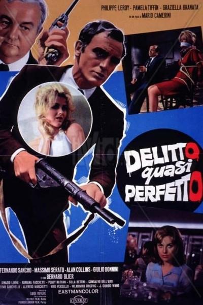 Caratula, cartel, poster o portada de Delito casi perfecto