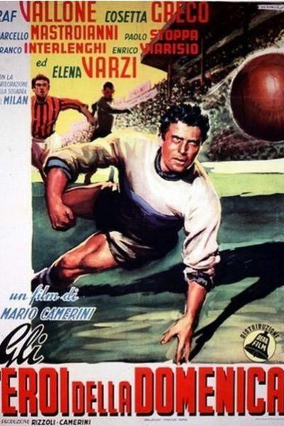 Caratula, cartel, poster o portada de Los héroes del domingo