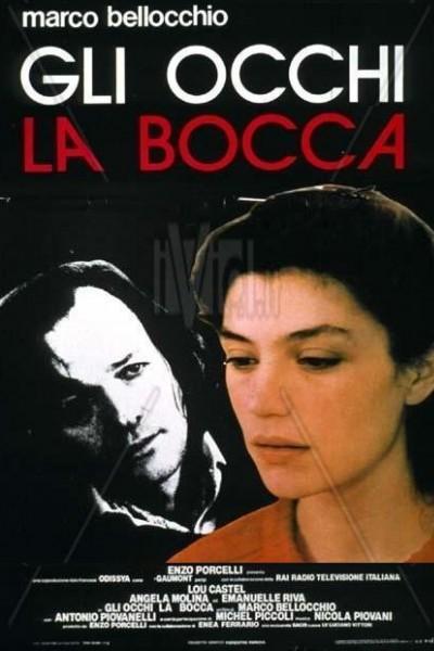 Caratula, cartel, poster o portada de Gli occhi, la bocca (Los ojos, la boca)