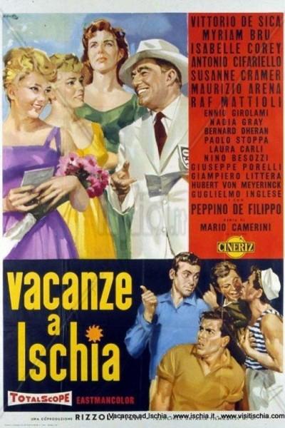 Caratula, cartel, poster o portada de Amores en Ischia