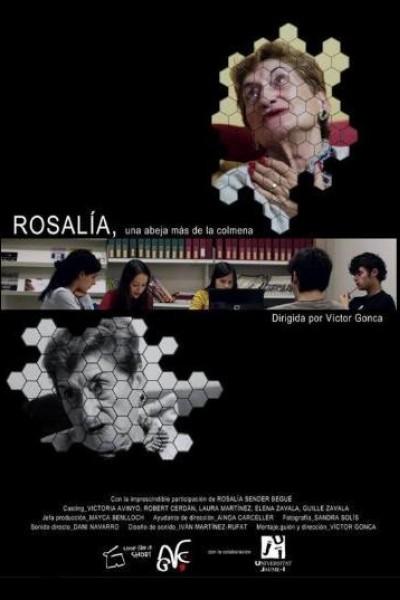 Caratula, cartel, poster o portada de Rosalía, una abeja más de la colmena
