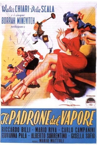 Caratula, cartel, poster o portada de Il padrone del vapore