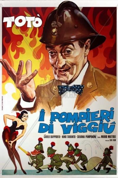 Caratula, cartel, poster o portada de I pompieri di Viggiù