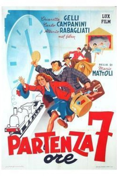 Caratula, cartel, poster o portada de Partenza ore 7