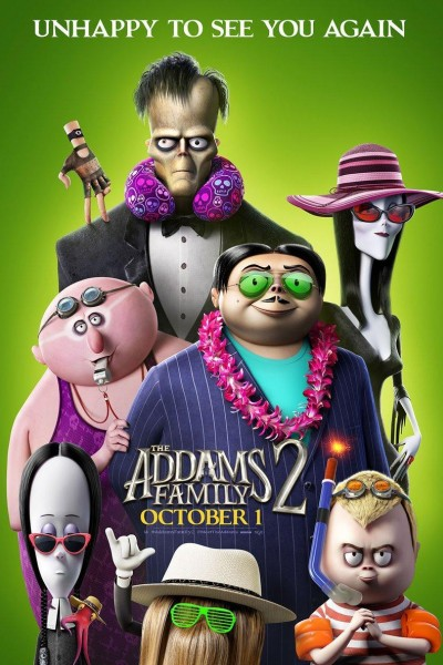 Caratula, cartel, poster o portada de La familia Addams 2: La gran escapada