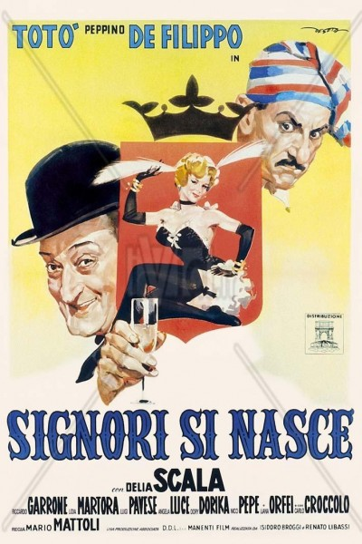 Caratula, cartel, poster o portada de Signori si nasce