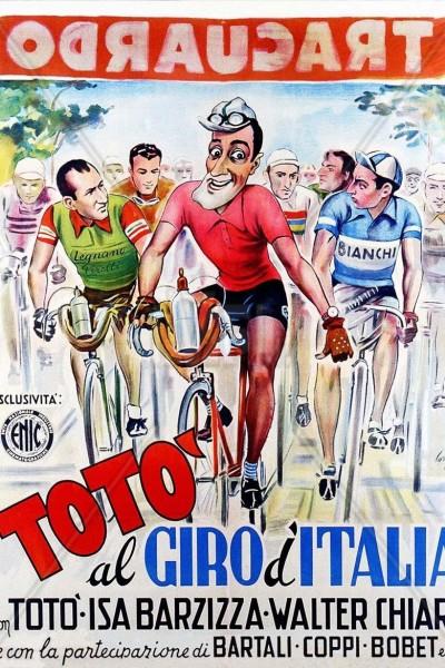 Caratula, cartel, poster o portada de Totò al Giro d\'Italia
