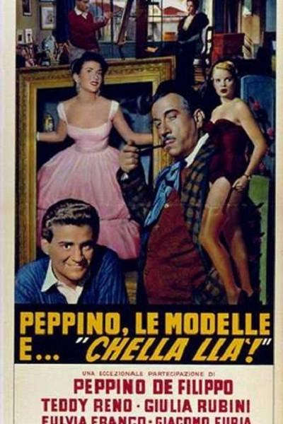 Caratula, cartel, poster o portada de Peppino, le modelle e chella là