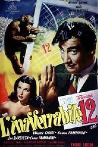 Caratula, cartel, poster o portada de L\'inafferrabile 12