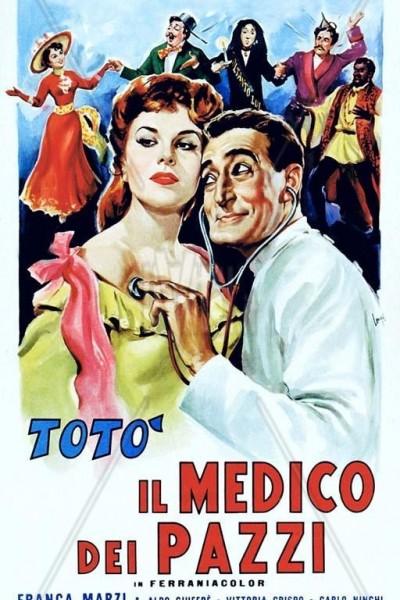 Caratula, cartel, poster o portada de Médico de locos