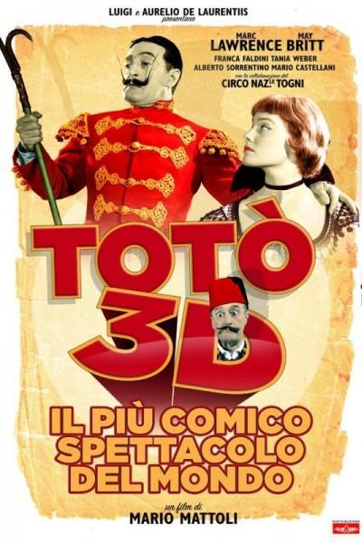 Caratula, cartel, poster o portada de Il più comico spettacolo del mondo