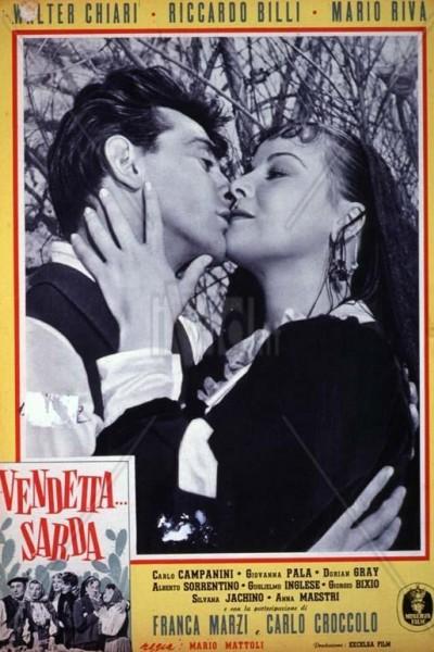 Caratula, cartel, poster o portada de Vendetta... sarda