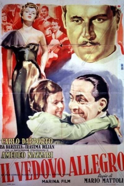 Caratula, cartel, poster o portada de Il vedovo allegro
