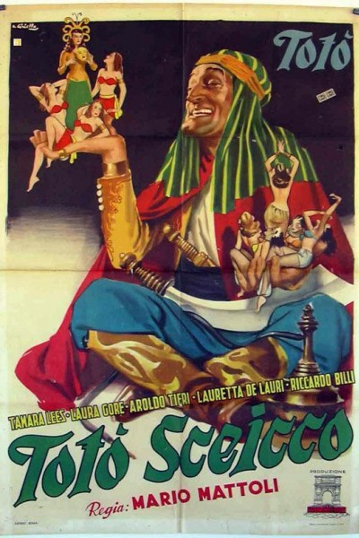 Caratula, cartel, poster o portada de El hijo del jeque