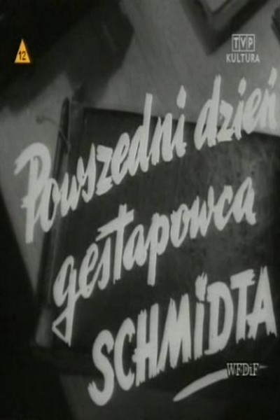 Caratula, cartel, poster o portada de A Day in Life of Gestapoman Schmidt