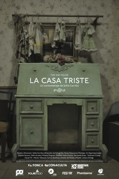Caratula, cartel, poster o portada de La casa triste