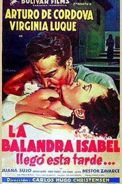 Caratula, cartel, poster o portada de La balandra Isabel llegó esta tarde