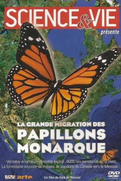 Caratula, cartel, poster o portada de La gran migración de las mariposas monarca