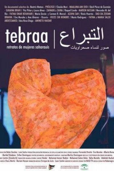 Caratula, cartel, poster o portada de Tebraa, retratos de mujeres saharauis