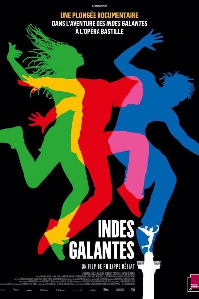 Caratula, cartel, poster o portada de Indes galantes