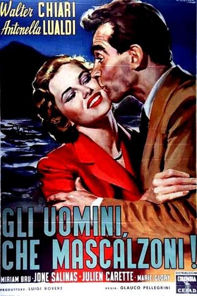 Caratula, cartel, poster o portada de Gli uomini, che mascalzoni!