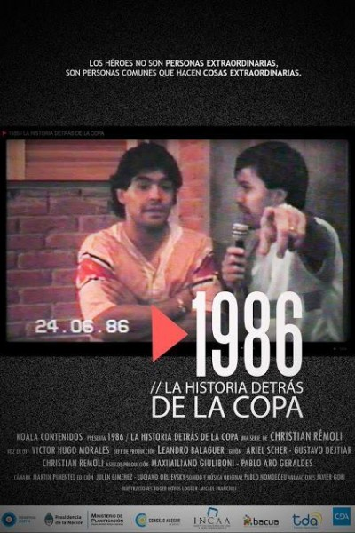 Caratula, cartel, poster o portada de 1986. La historia detrás de la Copa