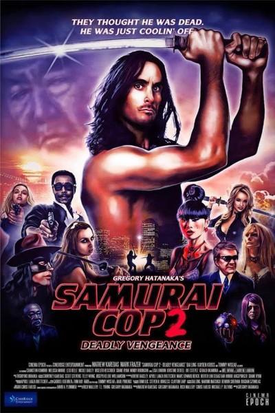 Caratula, cartel, poster o portada de Samurai Cop 2: Deadly Vengeance