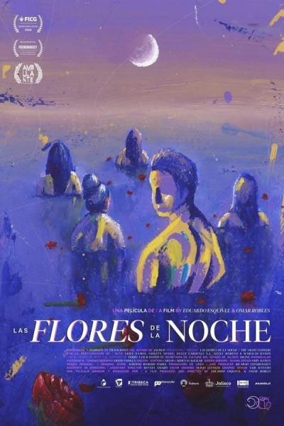Caratula, cartel, poster o portada de Las flores de la noche