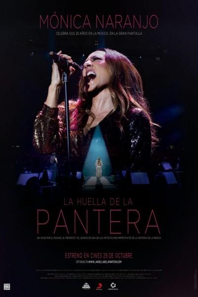 Caratula, cartel, poster o portada de Mónica Naranjo: La huella de la pantera